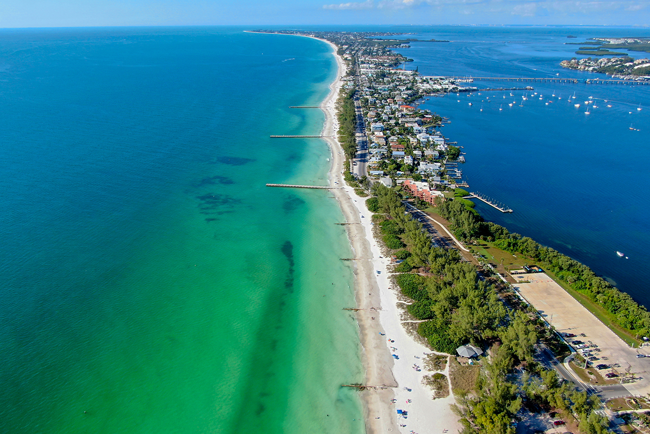 8 mile drive to a beautiful day at Anna Maria Island!