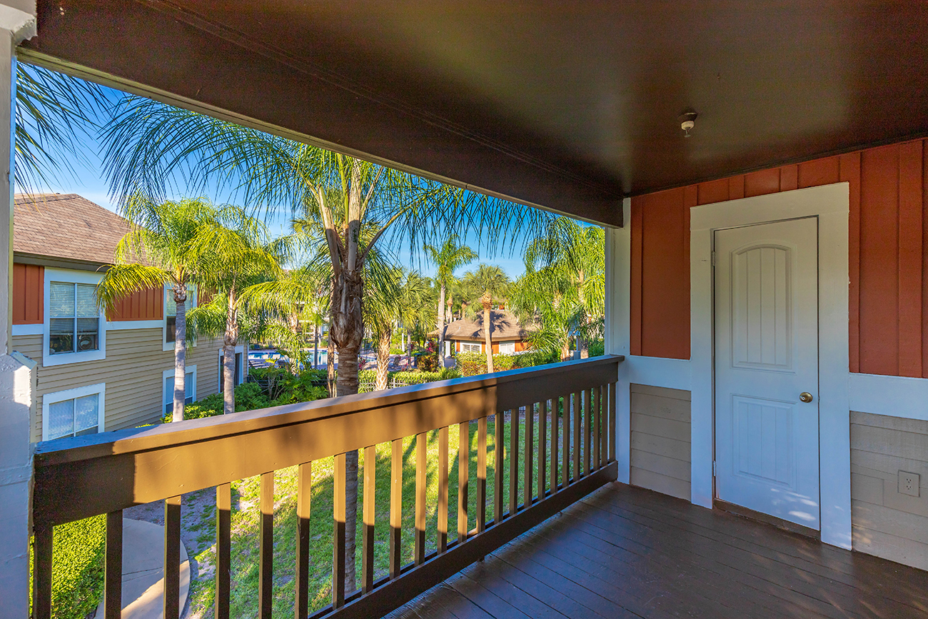 The Ficus (3 Bedroom): Huge 6 x 13' lanai for lots of outdoor living space