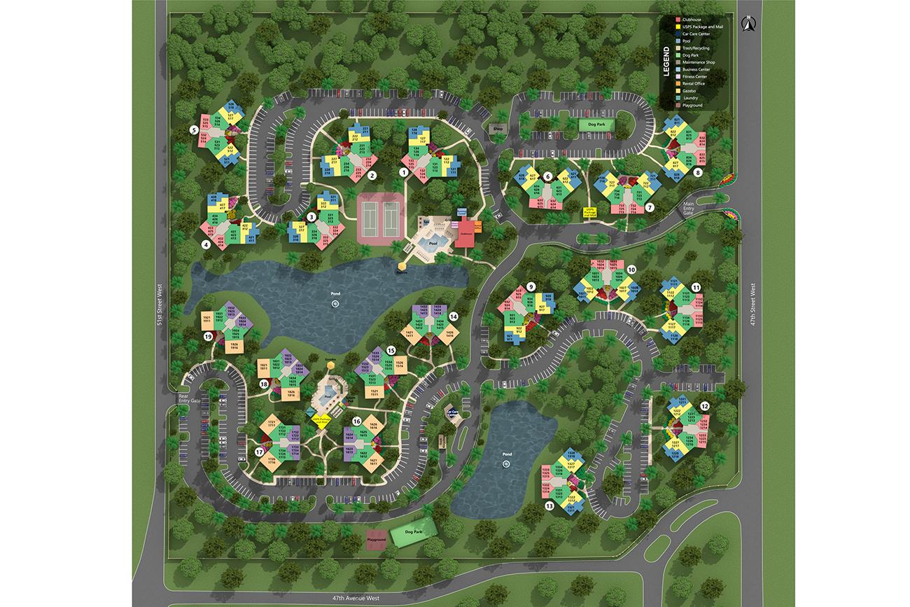 Beautiful resort-style community