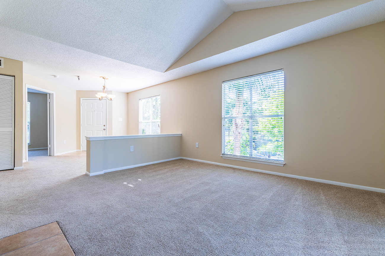 The Ficus (3 Bedroom): Vaulted ceilings in select homes