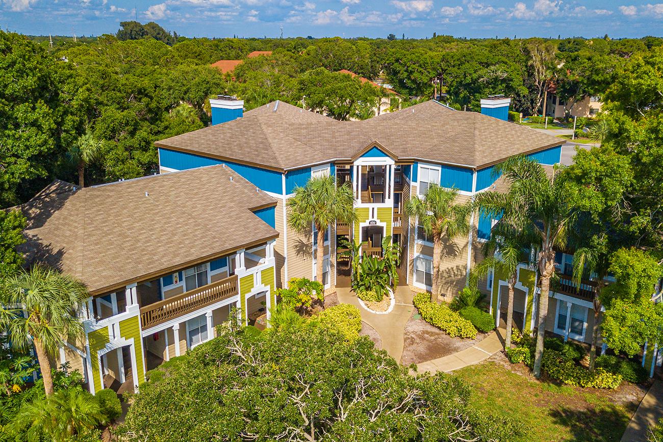 2 - 3 story buildings at Palm Cove in Bradenton, FL