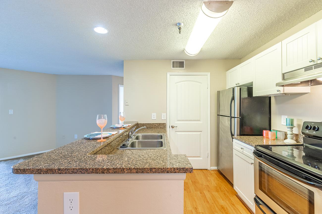 The Dogwood (2 bedroom): Kitchen