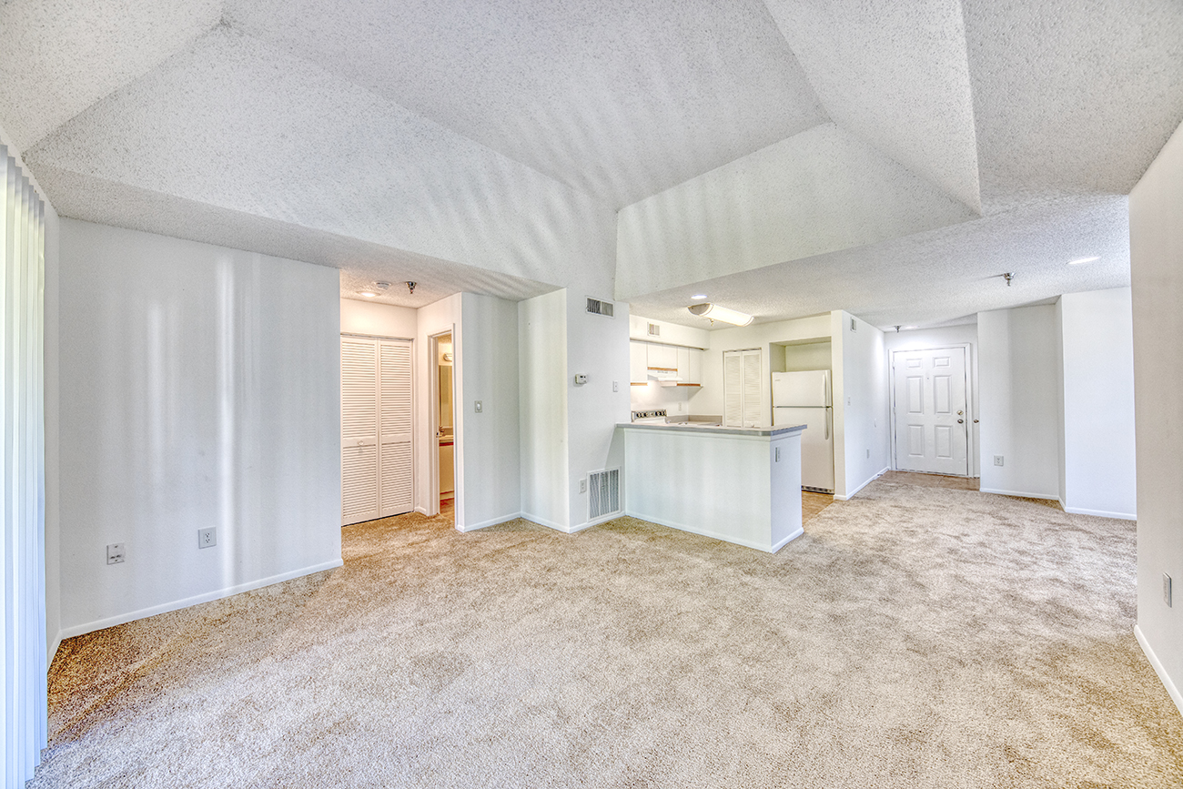 The Cypress (1 bedroom): Vaulted ceilings in select homes