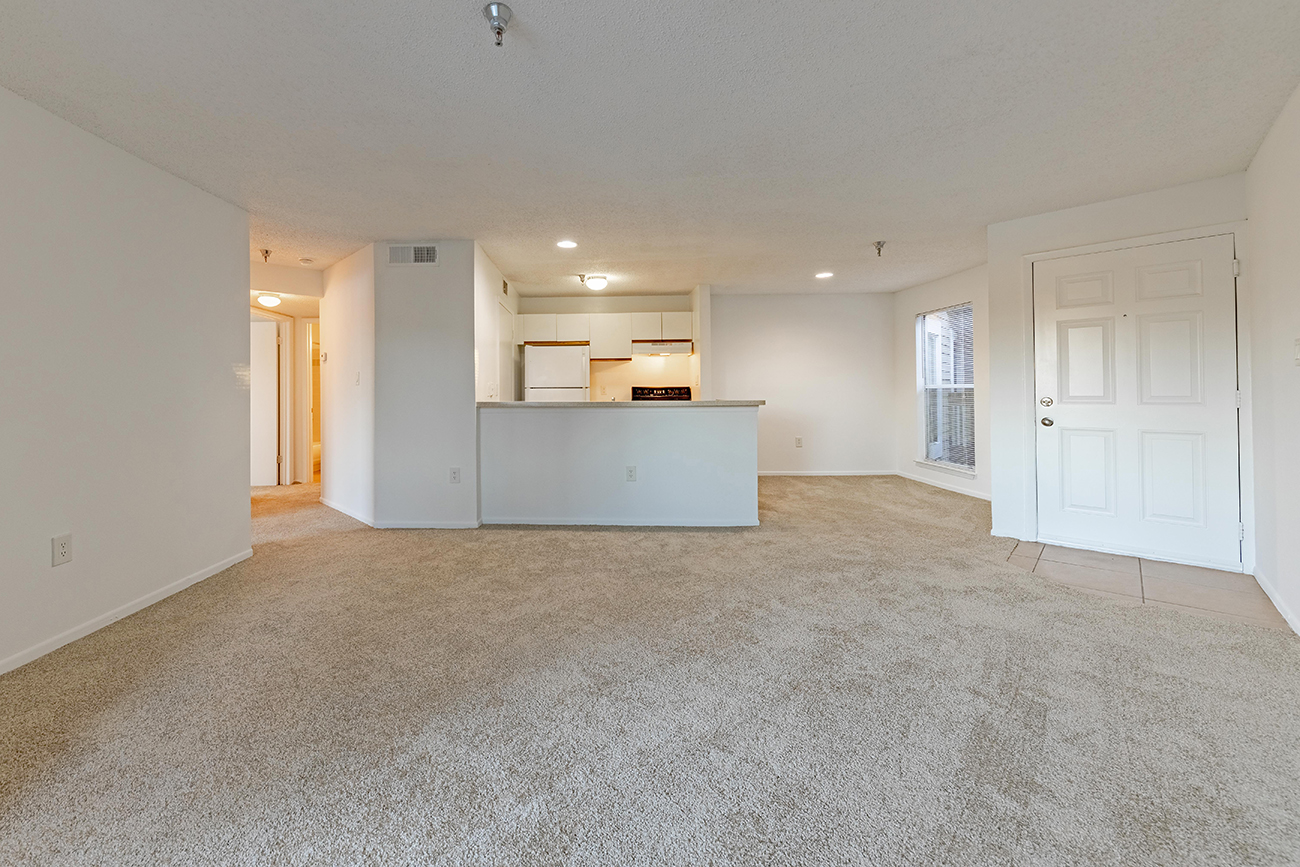 The Dogwood (2 Bedroom): Spacious living room