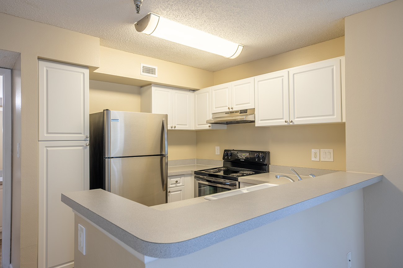 The Ficus (3 bedroom): Kitchen with pantry